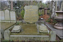 TQ3386 : Abney Park Cemetery - Monument to General William Booth  & Catherine Booth by N Chadwick
