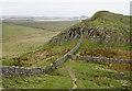 NY7868 : Hadrian's Wall at Cuddy's Crags by Bill Boaden