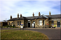 TM2532 : Harwich Town station building by Robert Eva