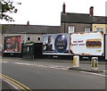 ST3188 : JCDecaux advertising boards, Caerleon Road, Newport by Jaggery