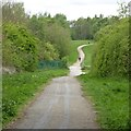 SK5447 : Path into Leen Valley Country Park by David Lally
