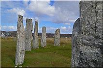 NB2133 : Standing stones at Calanais by John Allan