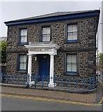 SH5638 : Masonic Hall Porthmadog by Arthur C Harris