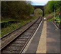 SN8443 : Heart of Wales Line from Sugar Loaf towards Cynghordy by Jaggery