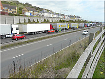 TR3140 : Controlled traffic hold-up on the A20 by John Baker