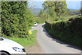 SO2413 : Minor road near Wenallt by M J Roscoe