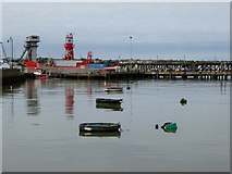 TM2532 : Inner Harbour, Harwich by Oliver Dixon