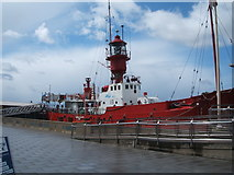 TM2532 : LV18 The last manned Trinity House lightvessel, Harwich by JThomas