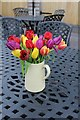 SH5573 : Tulips on the table by Richard Hoare