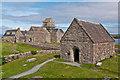 NM2824 : St Oran's Chapel by Ian Capper