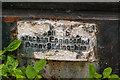 NM2824 : Plaque, replica Penfold pillarbox by Ian Capper