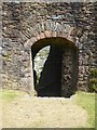 SX8060 : The doorway into the keep, Totnes Castle by David Smith