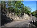 SE2329 : High stone wall, New Lane by Stephen Craven