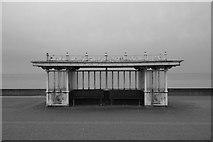 TQ2704 : Sea-front shelter, Western Esplanade, Hove by Julian Osley