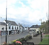 J4569 : The junction of Killinchy Street and High Street at Comber by Eric Jones