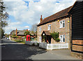 SU8376 : The Old Post Office, Waltham St Lawrence by Des Blenkinsopp