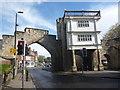 SE6151 : York Townscape : Inside Walmgate Bar, York by Richard West