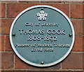 SK6003 : Thomas Cook blue plaque by Mat Fascione