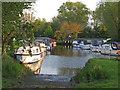 TM3891 : Rowen Craft moorings, Wherry Dyke, Geldeston by Roger Jones