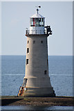 SX4650 : Plymouth : Breakwater Lighthouse by Lewis Clarke