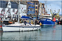 """SY6778 : """"Ella"""" entering Weymouth Old Harbour by David Martin"""