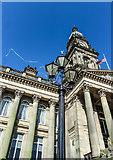 SD7109 : Bolton Wanderers ribbons, Victoria Square by Matt Harrop