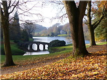 ST7733 : The Stone Bridge Stourhead by Chris Gunns