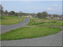 NY9393 : Elsdon Village Green by G Laird