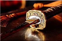 V6746 : Sword Hilt Detail by kevin higgins