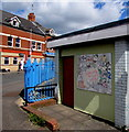 ST1368 : Welcome to our park, Weston Square, Barry by Jaggery