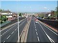 SJ9242 : The A50 at Meir by David Weston
