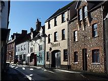 ST0743 : Watchet, Swain Street by Chris Gunns
