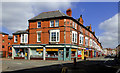 SO9198 : Pitt Street and Worcester Street in Wolverhampton by Roger  Kidd