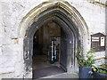 TF3024 : Church of All Saints:  The Doorway by Bob Harvey