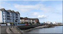 J5182 : Apartments and Care Home overlooking Ballyholme Bay by Eric Jones