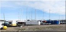 J5182 : Boats at Ballyholme Yacht Club by Eric Jones