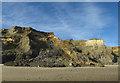 TG2639 : Landslide near Trimingham by Hugh Venables