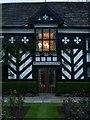 SJ8969 : Gawsworth Hall, garden front by Alan Murray-Rust