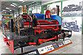 SK2406 : Statfold Barn Railway - Gertrude is not a runner by Chris Allen