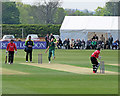 SK5566 : Stuart Broad in action at Welbeck by John Sutton