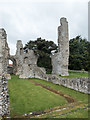 TF9839 : Remains of Binham Priory, Norfolk by Christine Matthews