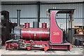 SK2406 : Statfold Barn Railway - Jack by Chris Allen
