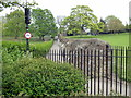 TL9925 : Roman Wall, Castle Park, Colchester by PAUL FARMER