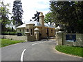 TL9824 : Gatehouse at Altnacealgach House, Park Road, Colchester by PAUL FARMER