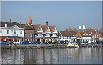 SU7682 : Henley from the Thames Path by Des Blenkinsopp