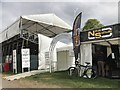 ST8083 : Entrance to main arena and members' enclosure at Badminton Horse Trials by Jonathan Hutchins