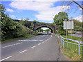 SJ3799 : Aintree, Arched Railway Bridge Over Ormskirk Road by David Dixon