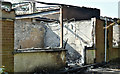 J3875 : Former Joss Cardwell Centre (fire damage), Belfast - May 2017(3) by Albert Bridge