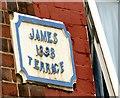 SJ8997 : James Terrace 1898 by Gerald England