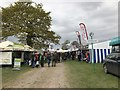ST8083 : Trade stands on 'Withybed Way', Badminton Horse Trials by Jonathan Hutchins